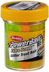 PowerBait Extra Scent Glitter Trout Bait