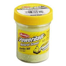 Garlic Scent Powerbait for Trout Fishing