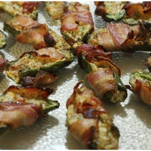 Smoked Back Wrapped Jalapeno Poppers