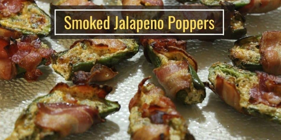 Smoked Jalapeno Poppers at 225°F